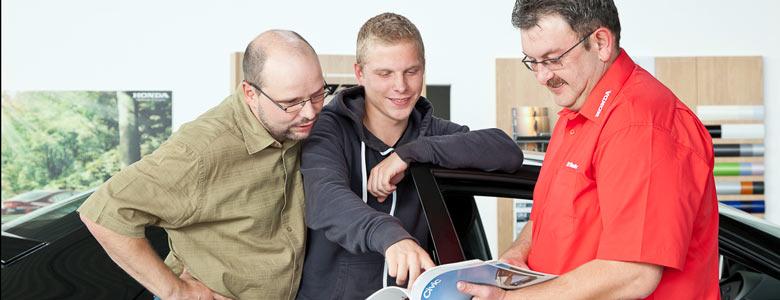 Honda Autohaus Am Eichberg Beratungsgespräch
