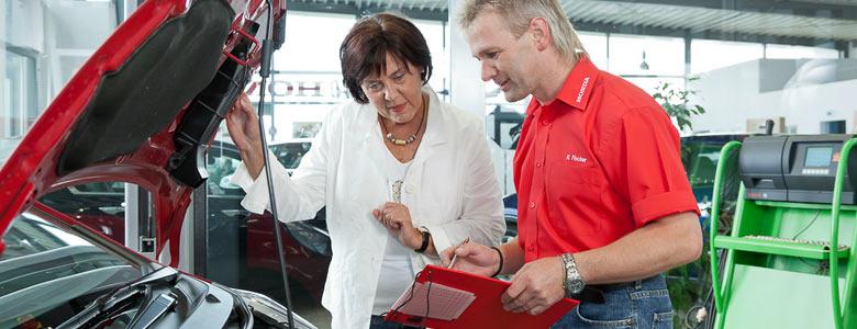 Honda Autohaus Am Eichberg Werkstatt